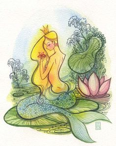 mermaid - I believe this is Alina's handiwork!