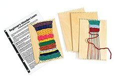 Colorations Beginner's Wooden Loom- Set of 12 (Item # RLOOM)
