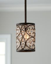 perfect mini pendant light for the kitchen island