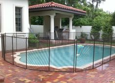 life saver pool fence of central florida is a removable mesh pool