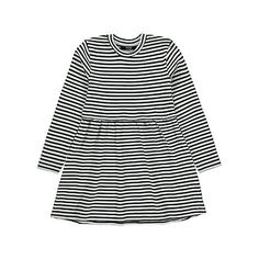 Striped Rib Knit Dress | Kids | George at ASDA