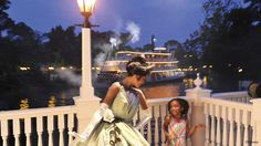 Tiana's Riverboat Party Ice Cream Social & Parade Viewing is now available at Magic Kingdom. Princess Tiana and Prince Naveen are your hosts for this special event complete with ice cream, toppings, drinks, sweet treats and a VIP parade viewing spot aboard the Liberty Square Riverboat!
