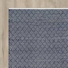 Found it at Wayfair - Boston Hand-Woven Navy Area Rug