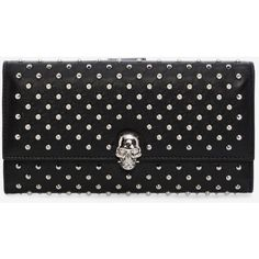 Shop Women's Studded Continental Wallet from the official online store of iconic fashion designer Alexander McQueen. Coin Purse Wallet, Pouch, Alexander Mcqueen Wallet, Studded Bag, Change Purse, Continental Wallet, Fashion Design, Women's Fashion, Polyvore