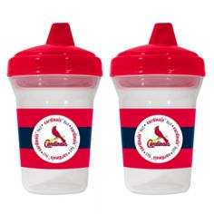 2-Pack Sippy Cups - St. Louis Cardinals. Take Your Little Ones Favorite Drinks On The Road With These Spill Proof 6 Ounce Sippy Cups. Show Off Your Team Pride With These Team Logo'D And Colored Cups. These Are Dishwasher Safe. All Items Have Been Quality And Safety Tested To Be 100% Bpa And Phthalate Free. Ages 3-24 Months Recommended. By Baby Fanatic, Made In China. 2-Pack Sippy Cups - St. Louis CardinalsSport Theme: BaseballLeague: MLBTeam: Saint Louis Cardinals