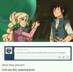 Tangled crossover