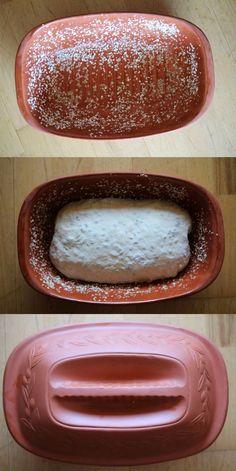 pieczenie chleba w garnku rzymskim Hot Dog Buns, Food Inspiration, Bread Recipes, Menu, Baking, Cake, Diet, Food, Brot