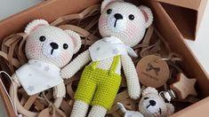 Uyku Arkadaşı Ayıcık – Elişi Deryası Creations Little Babies, Free Pattern, Teddy Bear, Animals, Moda Emo, Compost, Piercings, Knitting, Ideas