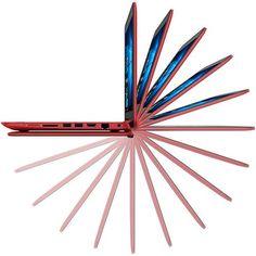 Notebook 2 em 1 HP 11-N226BR Intel Celeron 4GB 500GB LED 11,6 Windows 10 Touch - Vermelho