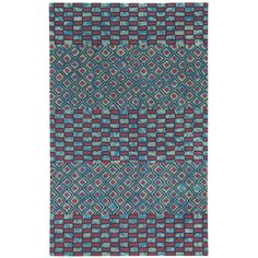 FREE SHIPPING! Shop Wayfair.ca for Capel Rugs Charisma Red/Blue Mosaic Area Rug - Great Deals on all  products with the best selection to choose from!