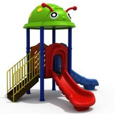 Outdoor Playground Equipment for schools, parks & play areas. Our exciting giant playground structures includes slides, play panels, puzzles & climbing bars Outdoor Jungle Gym, Kids Outdoor Playground, Playground Set, Cool Kids, Kids Fun, Swing And Slide, Farm Party, Kids Playing, Ladybug