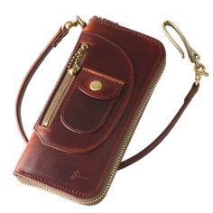 Purple Dragon Purple Moon Tri-Fold Wallet w// Button Pocket