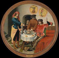 Joseph Interpreting the Dreams of His Fellow Prisoners | oil painting, ca. 1500 | Master of the Story of Joseph