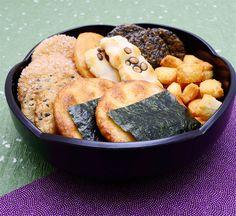 Cracker di riso senbei fatti in casa