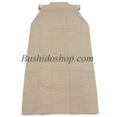 Hakama kendo coton écru (non blanchi) #7000