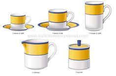 pour le thé et café