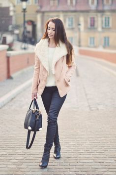 Camel fur jacket