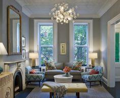 looks like a row house in San Francisco or a brownstone in Brooklyn - beautiful