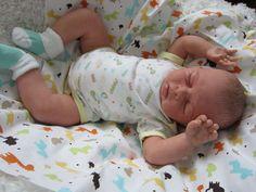 reborn baby boy WILLIAM from sculpt by Sabine Hansen