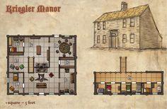 Kriegler Manor. http://paizo.com/pathfinder/modules