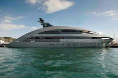 Norman Foster's yacht