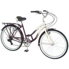 4768bdcc8de Schwinn Women's Sanctuary 7 Cruiser Bike Nantucket Bike Basket, Urban Bike,  49er, Toys