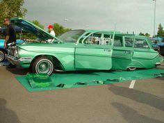 Impala wagon...Love this color!
