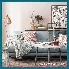 5 Super Quick Ways to Bring Spring Into Your Home - Tip 5 - Warm Pastels - Click on the link to read all about the 5 super quick (and inexpensive) ways that you can bring spring into your home!