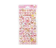 Hello Kitty Padded Stickers: Tea Time