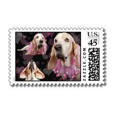 More basset stamps!