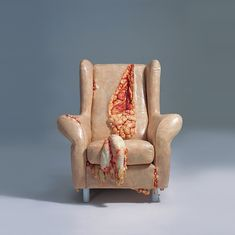 Disturbing Series Of Objects Made To Look Like Flesh