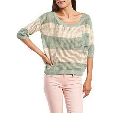 Reallllllllly need this Lurex Stripe Sweater Top at Charlotte Russe!!!!