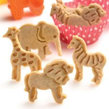 Animal Cookies: King Arthur Flour - Homemade so you know what's in them!