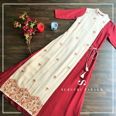 Design Print Portfolio Simple Ideas For 2019 Kurti Designs Party Wear, Kurta Designs, Blouse Designs, Indian Dresses, Indian Outfits, Indian Designer Outfits, Designer Dresses, Mode Abaya, Embroidery Suits