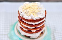 danish layered cake (a traditional rye cake with hazelnuts, filled with cream, chocolate and strawberry jam. YUM!)