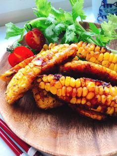 misuzu's dish photo じゅわっと甘い とうもろこしの唐揚げ | http://snapdish.co #SnapDish #レシピ #簡単料理 #美容/ダイエット #野菜料理 #おやつ #揚げ物