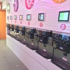 Photo of Swirl Whirl Yogurt Buffet - New York, NY, United States. 14 flavors