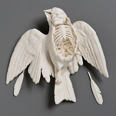 incredible sculptures by Kate Macdowell - more images in the link.