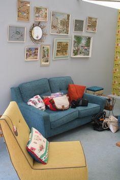 The G Plan Vintage Fifty Three and The Sixty. Magazine Display, Wilderness, Sofas, Upholstery, Comfy, How To Plan, Living Room, Chair, House