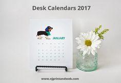 Desk Calendars printing online for fast delivery across Australia - Get your 2017 Calendar today http://www.njprintandweb.com/product/desk-calendars/