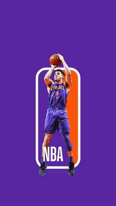 16cda03aa620 The Next NBA logo  NBA Logoman Series. Devin Booker ...