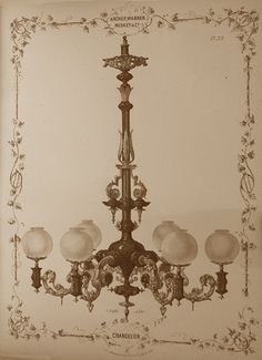 chandelier  gaslight romanticism