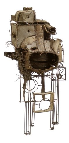 """Untitled #17"" by Lee Bontecou (1964)"