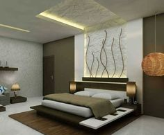 25 Comfortable Minimalist Bedroom Design Ideas For Married Couples is part of Ceiling design bedroom - Designing minimal bedrooms that do not have wide land is one thing that is easy to bother Designing a narrow Bedroom Lamps Design, Ceiling Design Living Room, Bedroom False Ceiling Design, Luxury Bedroom Design, Master Bedroom Design, Bedroom Decor, Furniture Design For Bedroom, Fall Ceiling Designs Bedroom, Indian Bedroom Design