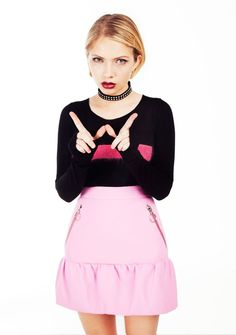 Bullett's newest story is out with fashion blogger and Rookie magazine founder, Tavi Gevinson.