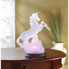 Majestic Unicorn Lamp Unicorn Glowing Statue $29.99
