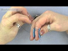Video:  How to Zip Up  a Peyote to make a tube.~ Seed Bead Tutorials