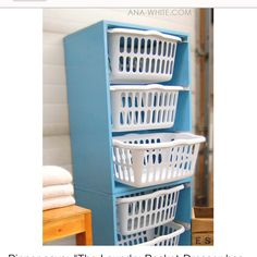 laundry room organization | Cute laundry room idea | Laundry Room Organization