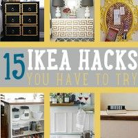 IKEA furniture is a thing of beauty and simplicity. We just love how your next purchase can easily turn to your next IKEA hack. Upcycling furniture is a true art form and who doesn't love cool DIY projects to give your home a better look.  So have your crafting tools ready! We