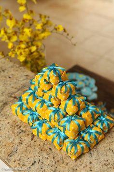 Princesas de Cristo: Casamento: azul tiffany e amarelo!